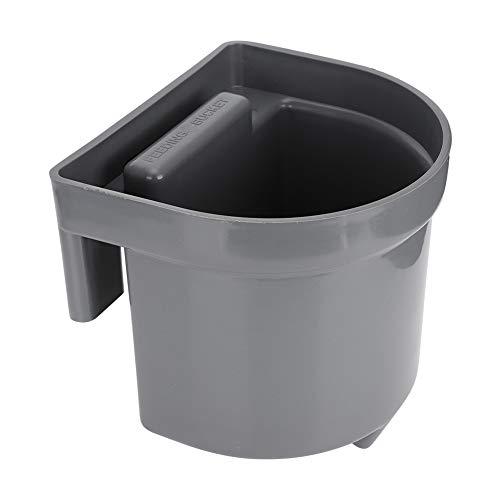 Cubo de alimentación duradero Cubo de alimentación de leche respetuoso con el medio ambiente, Cubo de alimentación de leche de oveja con capacidad de 4L, Ganadería para(4L feeding bucket set)