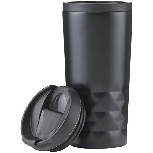 House of Goods-Thermobecher Isolierbecher to go I100% Auslaufsicher I Travel Mug I Autobecher I Trinkbecher I Schwarz, 300ml