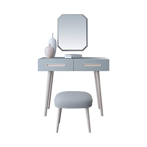 DJDLLZY Tocador nórdico Dormitorio Moda Multifunción Mini Mesa Simple de Maquillaje (Size : 0.9M)