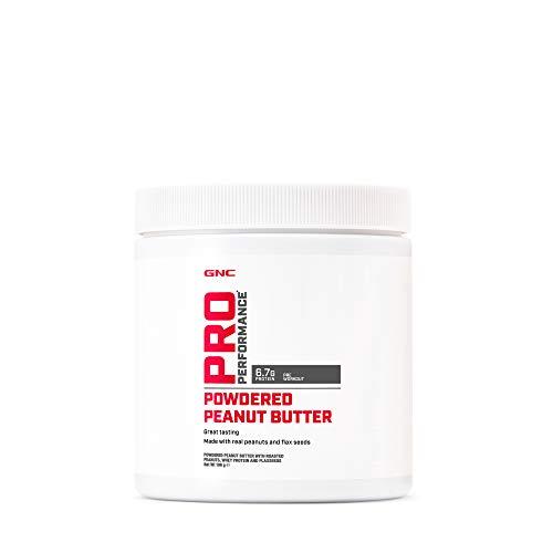 GNC Pro Performance Erdnussbutterpulver, 196 g, Great Peanut and Whey Protein Source