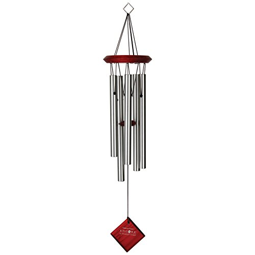 Woodstock Chimes Campana de Viento Polaris Color Plata