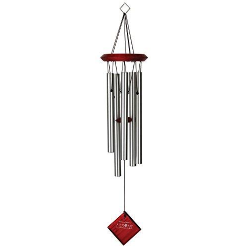 Woodstock Amazing Grace Carillon éolien argent 40 cm