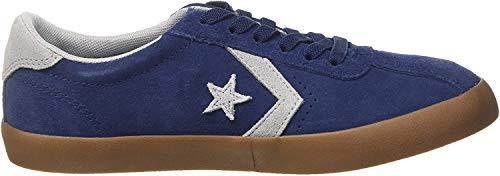 Converse Lifestyle Breakpoint Ox Suede, Zapatillas de Deporte Unisex niño, Azul (Navy/Wolf Grey/Gum 426), 30 EU