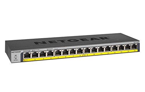 NETGEAR 16-Port GS116PP Switch