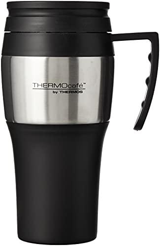 Thermos 183344 ThermoCafé 2010 Travel Mug, 400 ml, Stainless Steel,...