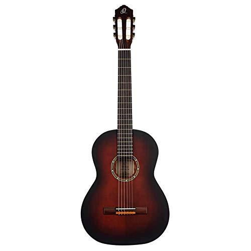 ORTEGA Family Series Pro Guitarra acústica de 6 cuerdas - Acabado de poro abierto Bourban Fade (R55BFT)