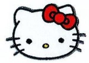 Hello Kitty à repasser image aufbügelmotiv