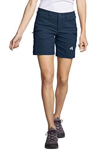 Eddie Bauer Damen Guide Pro Shorts, Gr. 14 (44), Mittelindigo