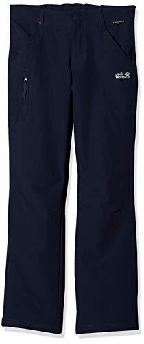 Jack Wolfskin Kinder ACTIVATE PANTS KIDS Softshell-hose, midnight blue, 164