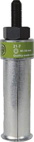 Kukko 21-7 Extractor de Rodamientos Interior, Diámetro 45-58 mm, Negro
