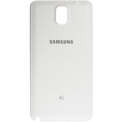 Original Samsung Akkudeckel white / weiß mit 4G-Aufdruck für Samsung N9005 Galaxy Note 3 LTE (Akkufachdeckel, Batterieabdeckung, Rückseite, Back-Cover) - GH98-29605B
