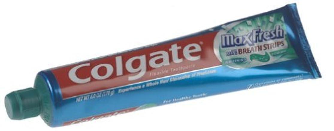 却下する顕現開示する海外直送品 Colgate Colgate Max Fresh Whitening Toothpaste Clean Mint, Clean Mint 6 oz