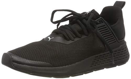 Puma Insurge Mesh 2.0 Sneaker Unisex-Erwachsene, Schwarz (Puma Black-Puma White), 40.5 EU