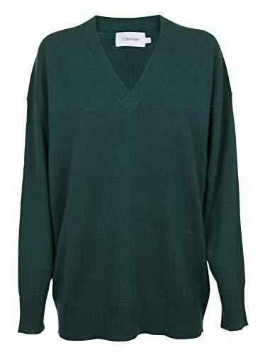 Luxury Fashion | Calvin Klein Dames K20K201082305 Groen Katoen Truien | Herfst-winter 19