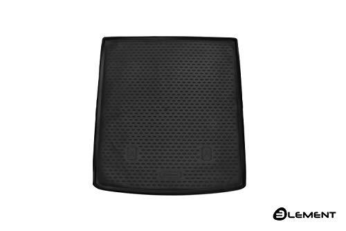 Element EXP.ELEMENT4402L12 Passgenaue Premium Antirutsch Gummi Kofferraumwanne - SEAT Alhambra, MPV, Mk2 (7N) - Jahr: 17-20, schwarz, Passform