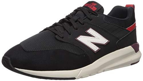 New Balance Ms009, Zapatillas para Hombre, Negro (Black Black), 42 EU