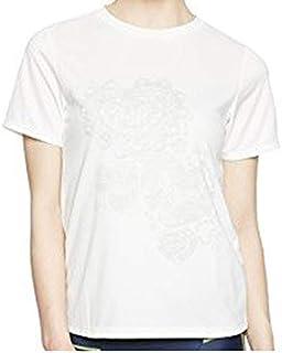 (ダンスキン) DANSKIN フィットネスウェア Tシャツ DB77183T [レディーズ] DB77183T JW ジャスミンホワイト XL