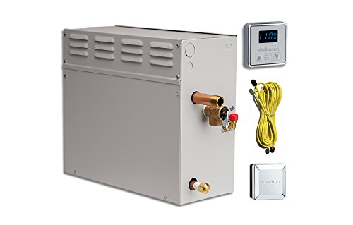 Fantastic Deal! EliteSteam 12 KiloWatt Luxury Home Steam Shower System (Steam Shower Generator, Cont...