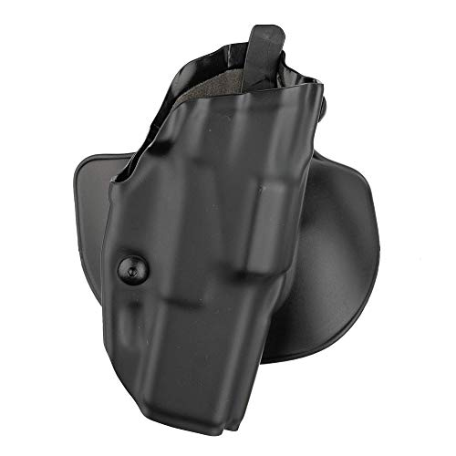 Safariland 1130048 Glock 17, 22 with ITI M3, TLR-1, Insight XTI Procyon 6378 ALS Concealment Paddle Holster, Plain Black, Right Handed, Black - STX Plain