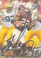 Lee Suggs Virginia Tech Hokies - Cleveland Browns 2003 Press Pass Autographed Card - Nice Autograph. This item comes with a certificate of authenticity from Autograph-Sports. Autographed