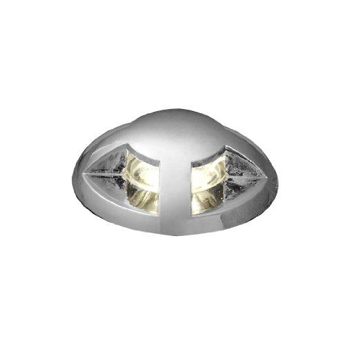 Konstsmide Mini LED Bodenspots/Bodeneinbauleuchte Mini LED mit klarem Glas/Kunststoff (6er Set)