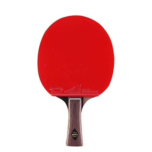 Best Review Of 6 Star Advanced Training Table Tennis Racket, Professional Ping Pong Paddle, Sandalwo...