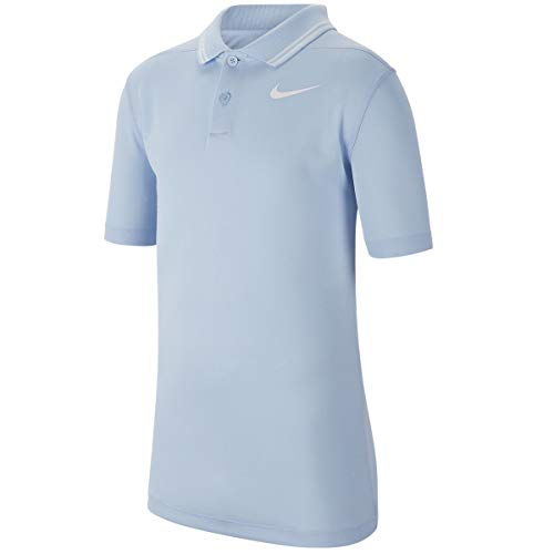 Nike Junior's Dry Victory Polo BV0404 (Hydrogen Blue, Large)