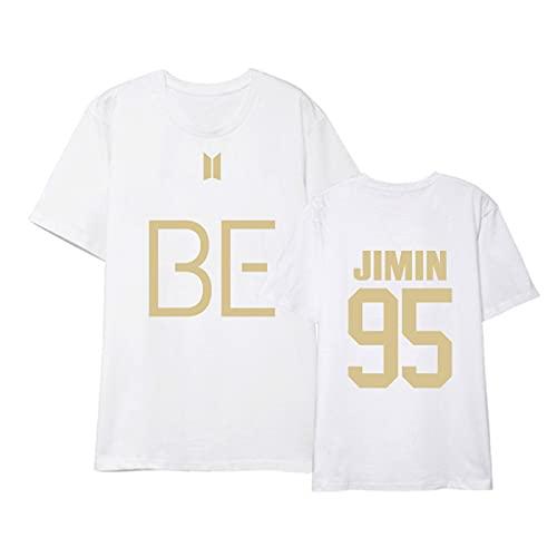 Camiseta BTS con Todos los Nombres, Camiseta cómoda, pulóver, Camiseta de Manga Corta para Hombre, Divertida XL