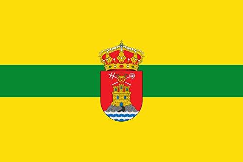 magFlags Bandera Large Municipio de Perales de Tajuña Comunidad de Madrid   Bandera Paisaje   1.35m²   90x150cm