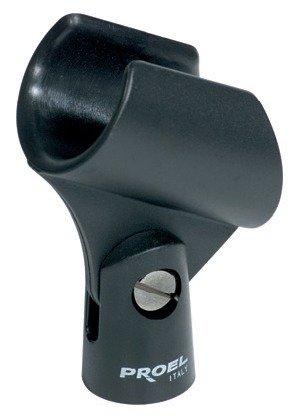 Pinza grande para micrófono en ABS (Diámetro Min-Max: 27-31 mm)