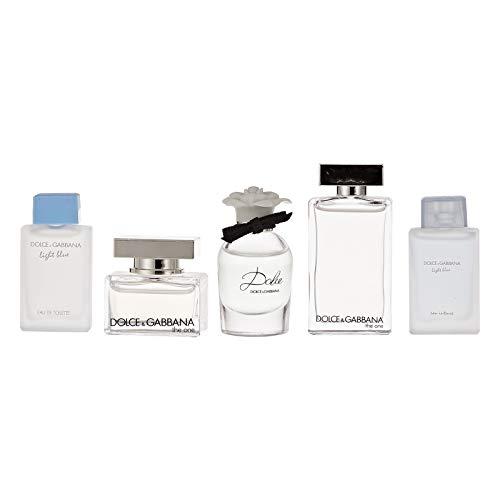 Dolce and Gabbana Dolce and Gabbana Mini Collection Women 5 Pc Mini Gift Set