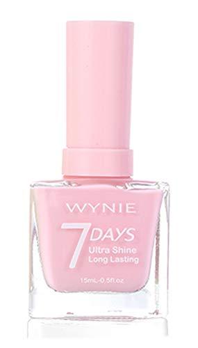 WYNIE JUMBO Nail Polish 425 - Esmalte de Uñas Secado Rápido Larga Duración tamaño Jumbo tono Rosa Pastel - 15 ml
