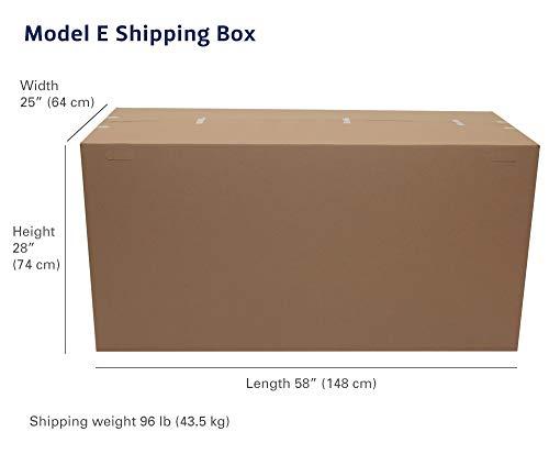 Concept2 Modell E Rudergerät Paketmaße