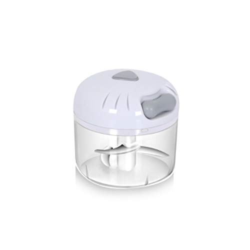 LIFON Manual Vegetable Chopper Grinder- Manual Food Chopper for Garlic, Pepper,Ginger,White