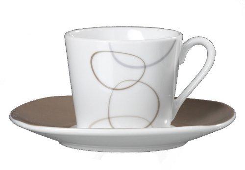 Ritzenhoff & Breker Espressotassen - Set 12 tlg. Alina marron - Flirt