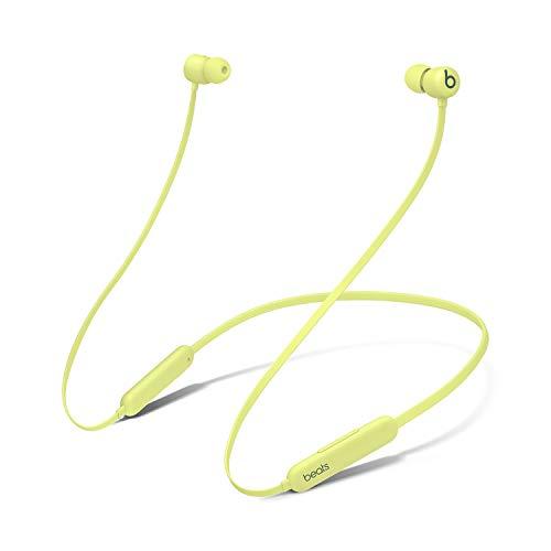 Audífonos in-Ear BeatsFlex inalámbricos, Chip W1 para audífonos diseñado por Apple, audífonos magnéticos, tecnología Bluetooth®Class1, 12Horas de Audio: Amarillo