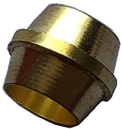 """Brass Compression Sleeve 50 3//8/"""" FOR COPPER TUBING"""