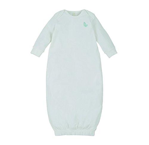 Sense Organics Yce - Pyjama - Uni - Manches Longues - Mixte bébé - Blanc (Rfd Ecowhite 000010) - FR: 2 mois (Taille fabricant: 50/56 cm)