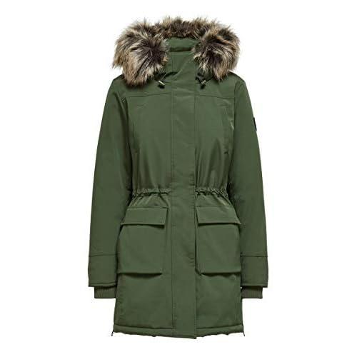 Only Onlnewsally Long Nylon Coat Otw Parca para Mujer a buen precio