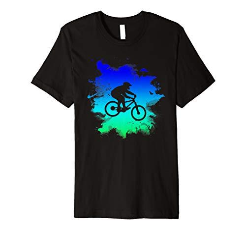 Downhill Mountain Bike Premium T-Shirt