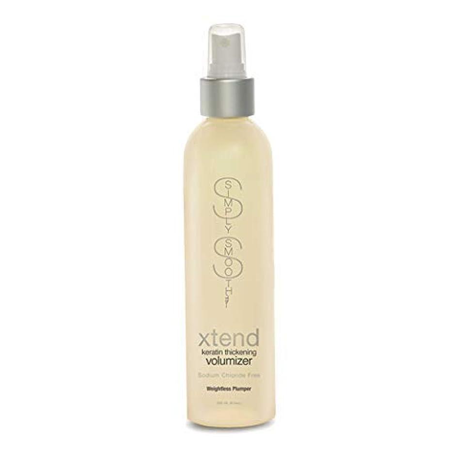 喉が渇いた降臨細胞Simply Smooth Xtend Keratin Thickening Volumizer 8.5 oz. (並行輸入品)