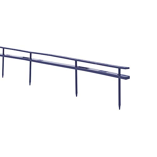 """GBC Binding Spines, Reclosable, 2"""" Depth, 4 Pin Spines, 200 Sheet Capacity, VeloBind, Blue, 25 Pack (9741631)"""