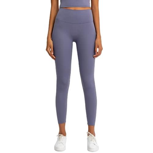 Pantalones de Yoga de Cintura Alta Anti-Sentadillas para Mujeres Pantalones de Jogging elásticos y de Secado rápido Leggings para Exteriores Pantalones de Fitness KS