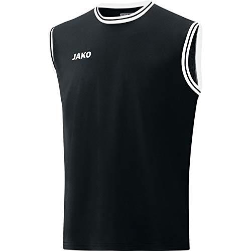 JAKO Camiseta Unisex Infantil Center 2.0, Unisex niños, Camiseta, 4150, Negro/Blanco, 11-13 Años