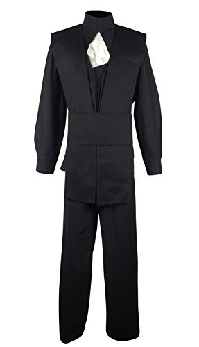 Allten Men's Cosplay Costume Linen Black Halloween Outfit L - http://coolthings.us