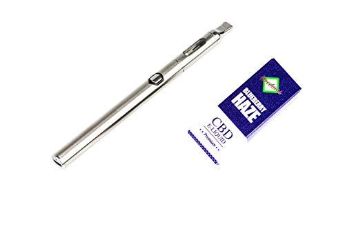 Weedness CBD Öl E-Liquid Blueberry 1000 mg + CBD Vaporizer Pen - Pen Bio Hanföl Starterset E-Zigarette Verdampfer Dampf Set Oil