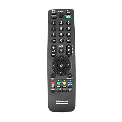 VINABTY AKB69680403 Telecomando sostitutivo compatibile con LG TV 32LH3000 37LF2500 37LF2510 37LG2100 37LH20 32LH3010 32LH3800 37LH35FD 42LH20D 42LH35FD 42PQ20D