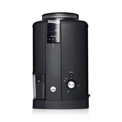 Wilfa Svart CGWS-130B Aroma elektrische Kaffemühle Edelstahl 40mm Kegelmahlwerk, 34 Mahlgrade