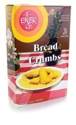 Ener-G Bread Crumbs Gluten and Wheat Free -- 10 oz (3-Pack)
