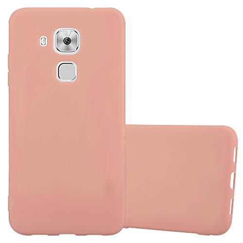 Cadorabo Funda para Huawei Nova Plus en Candy Rosa - Cubierta Proteccíon de Silicona TPU Delgada e Flexible con Antichoque - Gel Case Cover Carcasa Ligera